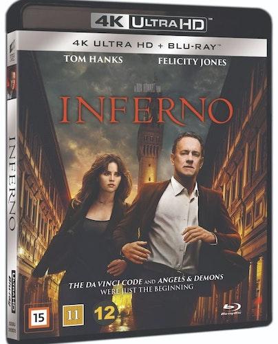 Inferno 4K UHD bluray