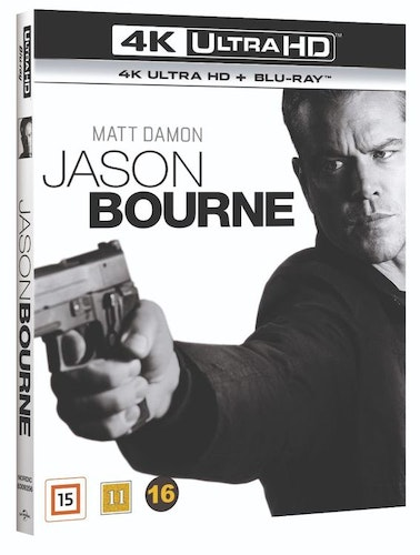 Jason Bourne 4K Ultra HD