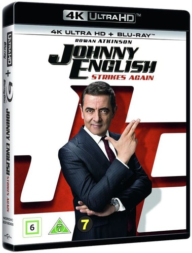 Johnny English Strikes Again 4K Ultra HD