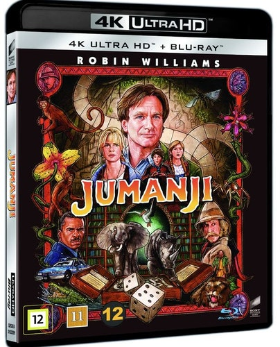 Jumanji 4K UHD bluray