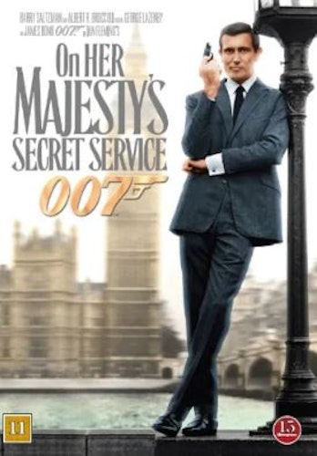 007 James Bond - On her Majesty´s secret service DVD