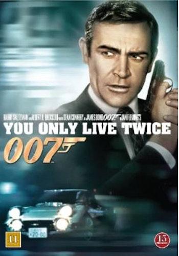 007 James Bond - You only live twice/Man lever bara två gånger DVD