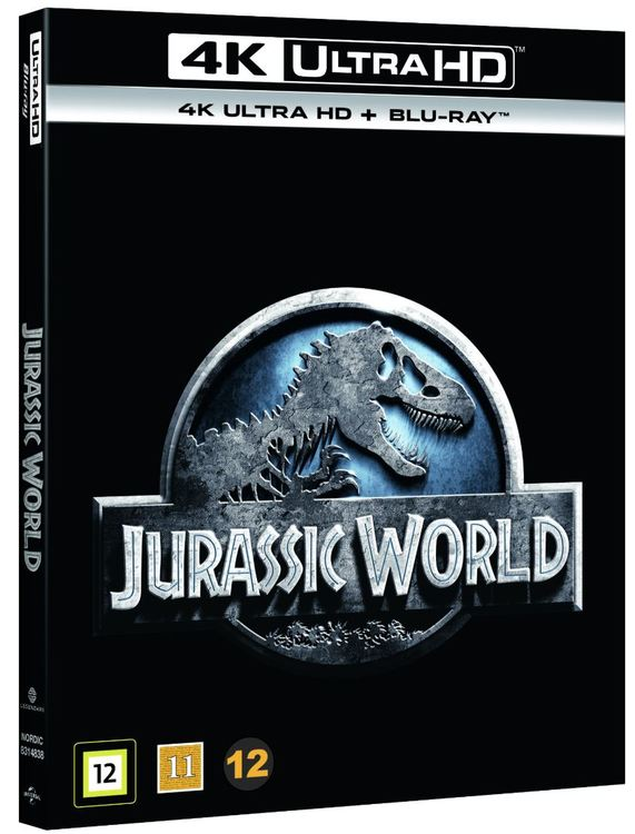 Jurassic World 4K UHD bluray