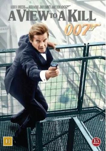 007 James Bond - A view to a kill/Levande måltavla DVD