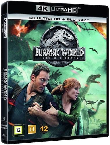 Jurassic World: Fallen Kingdom 4K UHD bluray