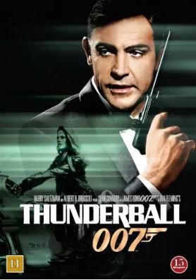 007 James Bond - Thunderball/Åskbollen DVD