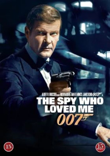 007 James Bond - The spy who loved me/Älskade spion DVD