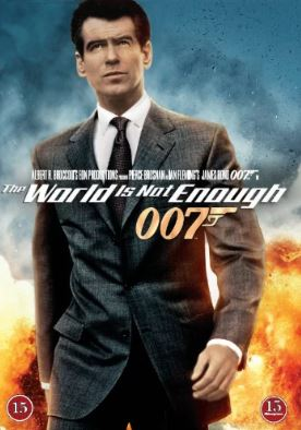 007 James Bond - The world is not enough/Världen räcker inte till DVD