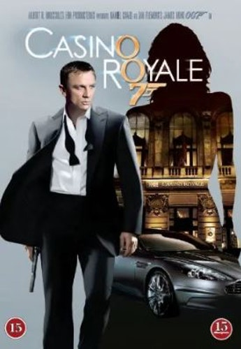 007 James Bond - Casino royale DVD (beg)