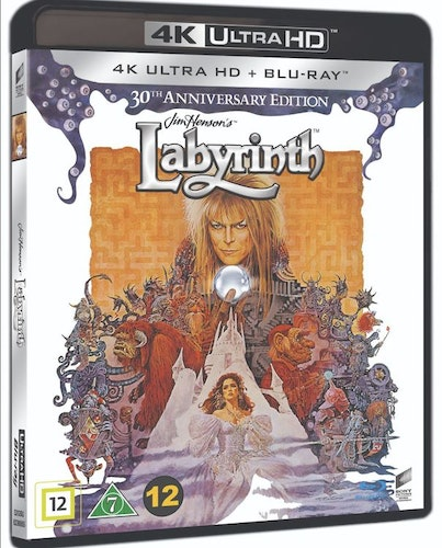 Labyrinth - 30th Anniversary Edition 4K UHD bluray