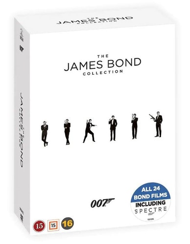 007 James Bond DVD-BOX