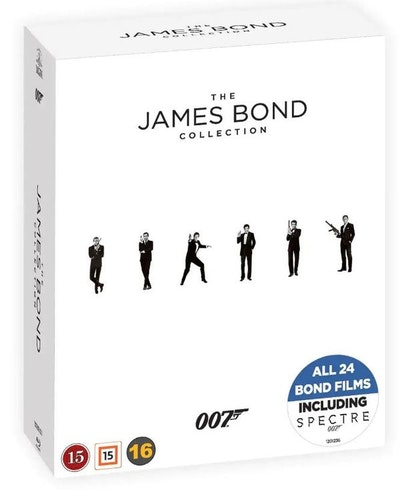 007 James Bond bluray-BOX