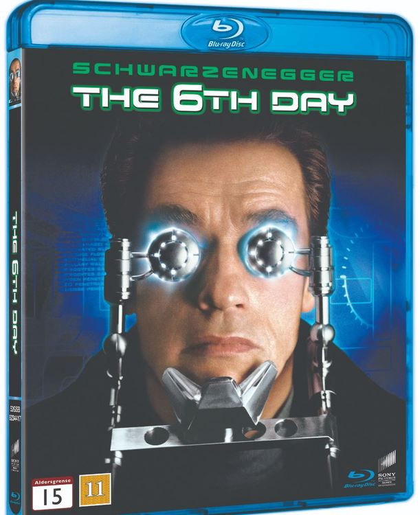 Sjätte dagen bluray