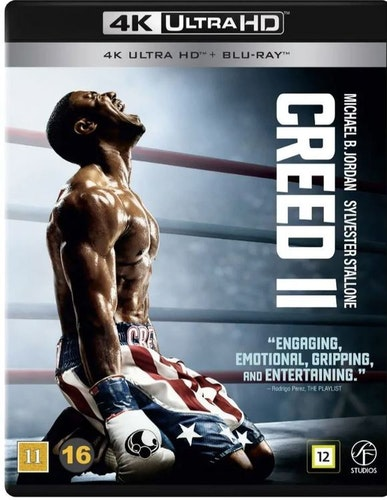 Creed II 4K UHD bluray