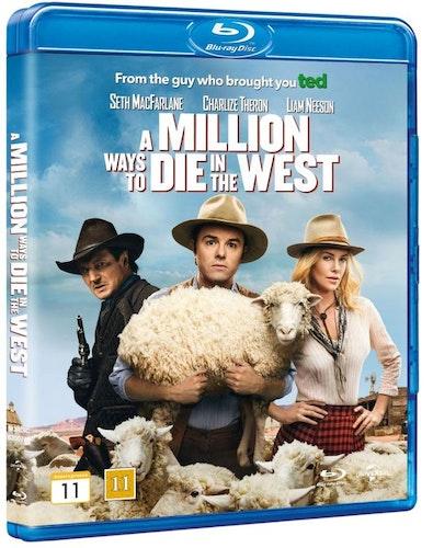 A million ways to die in the west bluray