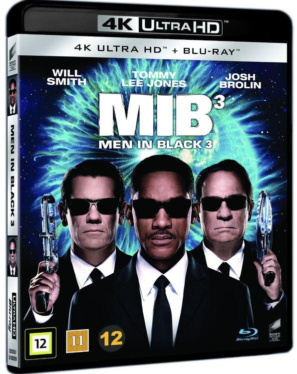 Men in black 3 4K UHD bluray