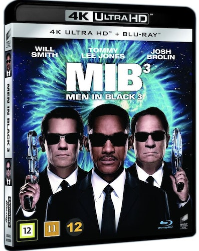 Men in black 3 4K UHD bluray