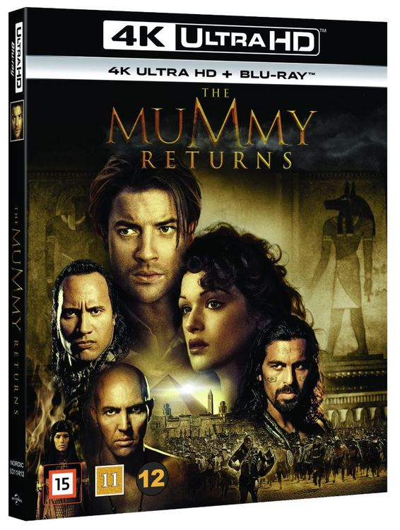 The Mummy Returns 4K UHD bluray