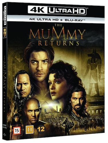 The Mummy Returns 4K UHD bluray