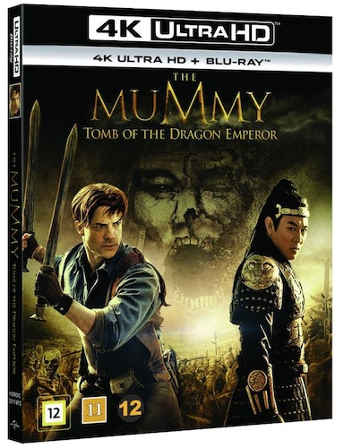 THE MUMMY: TOMB OF THE DRAGON EMPEROR 4K UHD bluray
