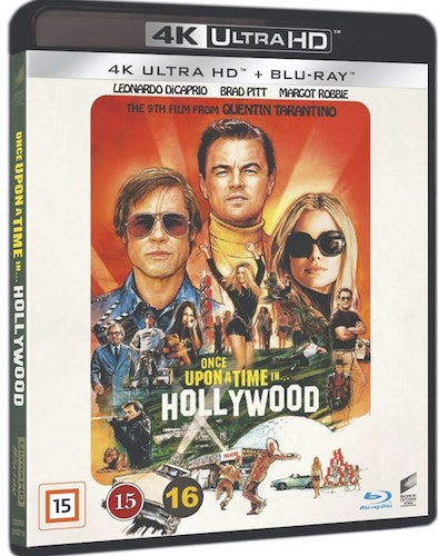 ONCE UPON A TIME IN HOLLYWOOD 4K UHD bluray