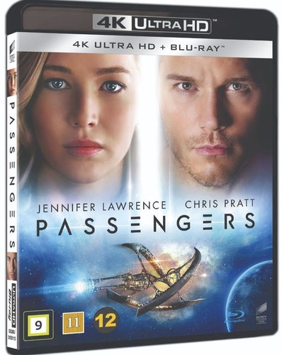 Passengers 4K UHD bluray