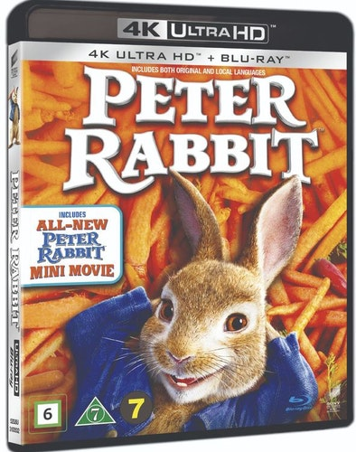 Pelle kanin 4k UHD bluray (svensk utgåva)