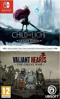 Child of Light + Valiant Heart (Twin Pack) (Switch)