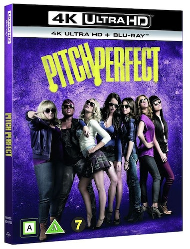 Pitch Perfect 4K UHD bluray