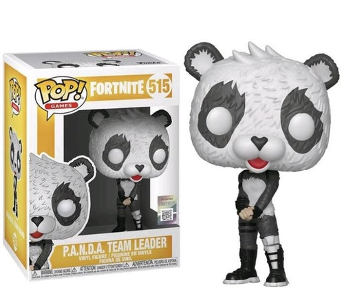 POP figure Fortnite P.A.N.D.A Team Leader