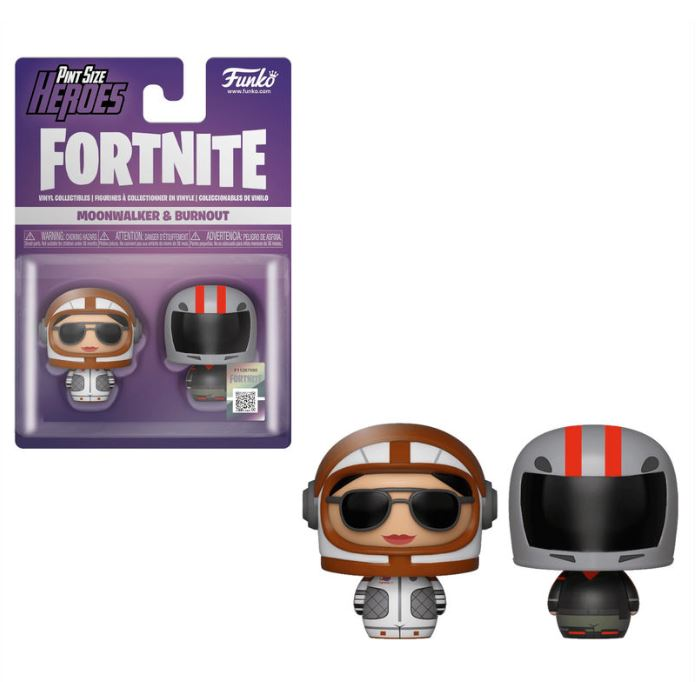 figures Pint Size Fortnite Moonwalker & Burnout