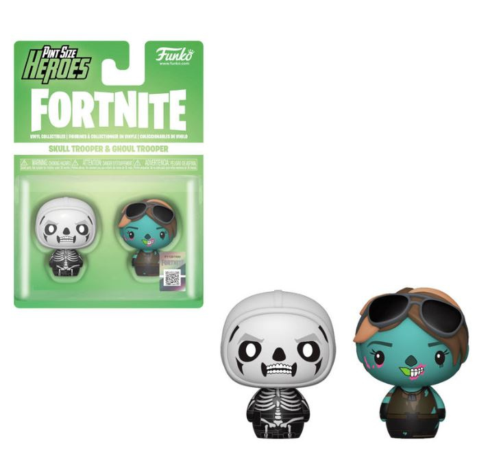 figures Pint Size Fortnite Skull Trooper & Ghoul Trooper