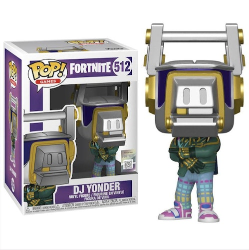 POP figure Fortnite DJ Yonder