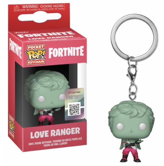 Pocket POP nyckelring Fortnite Love Ranger