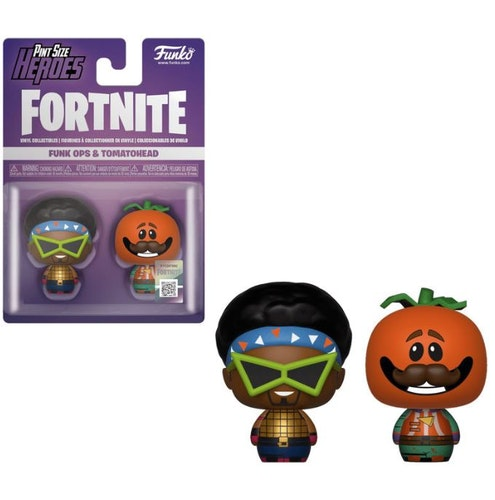 2 figurer Pint Size Fortnite Funkops & Tomatohead