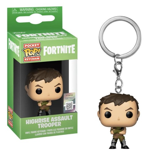 Pocket POP nyckelring Fortnite Highrise Assault Trooper