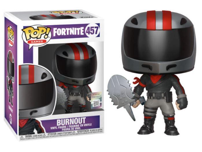 POP figure Fortnite Burnout