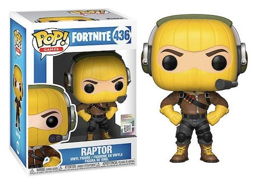 POP figure Fortnite Raptor