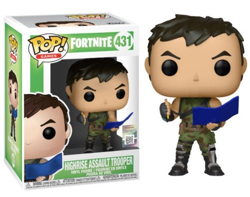 POP figure Fortnite High Rise Assault Trooper
