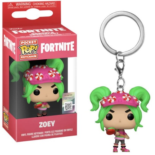 Pocket POP nyckelring Fortnite Zoey