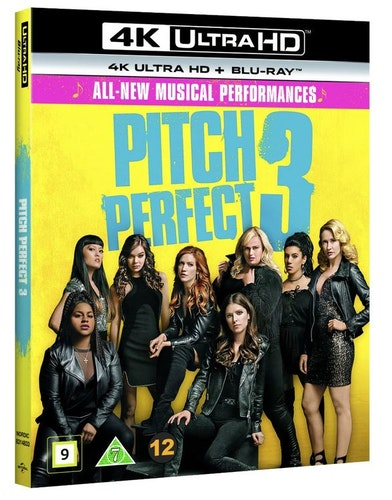 Pitch Perfect 3 4K UHD bluray