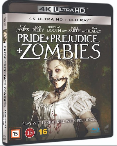 Pride and Prejudice and Zombies 4K UHD bluray