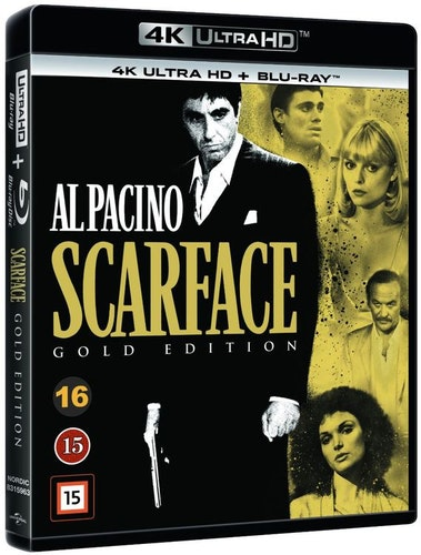 Scarface 4K UHD bluray