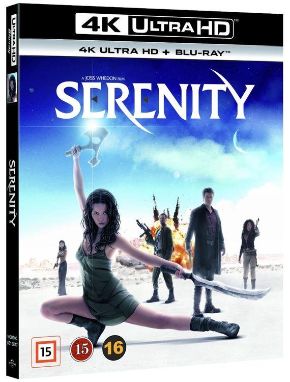 Serenity 4K UHD bluray