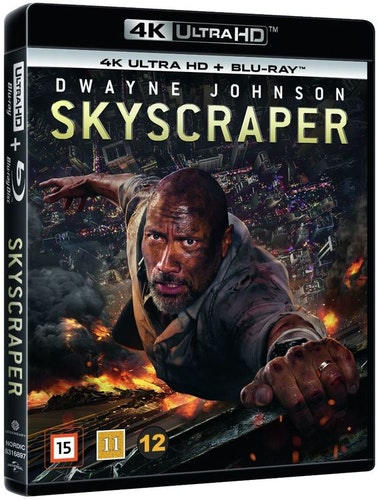 Skyscraper 4K UHD bluray