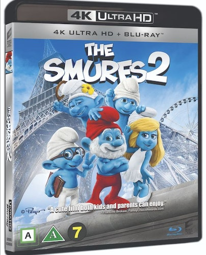 Smurfarna 2 4K UHD bluray