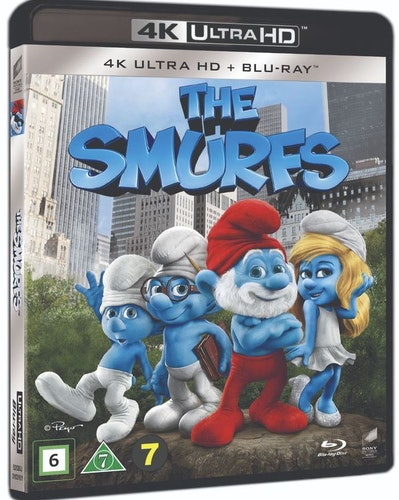 Smurfarna 4K UHD bluray