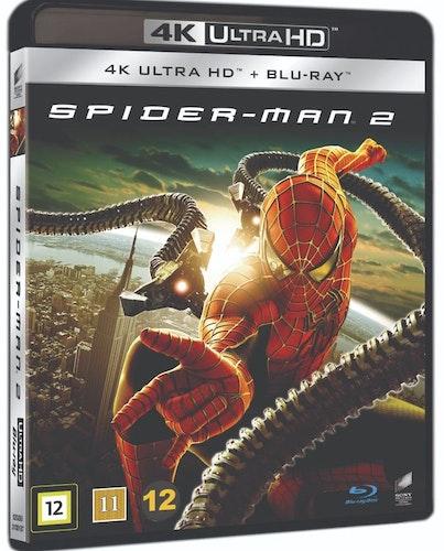 Spiderman 2 4K UHD bluray