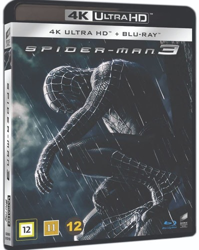 Spiderman 3 4K UHD bluray