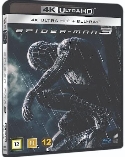 Spiderman 3 4K UHD bluray